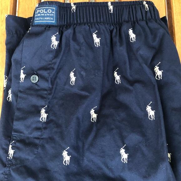 polo sport allover pony polo shorts